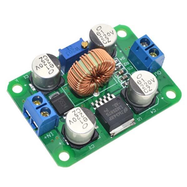 Повышающий преобразователь напряжения на микросхеме LM2587 с 3.5-30 В до 4.0-30 В