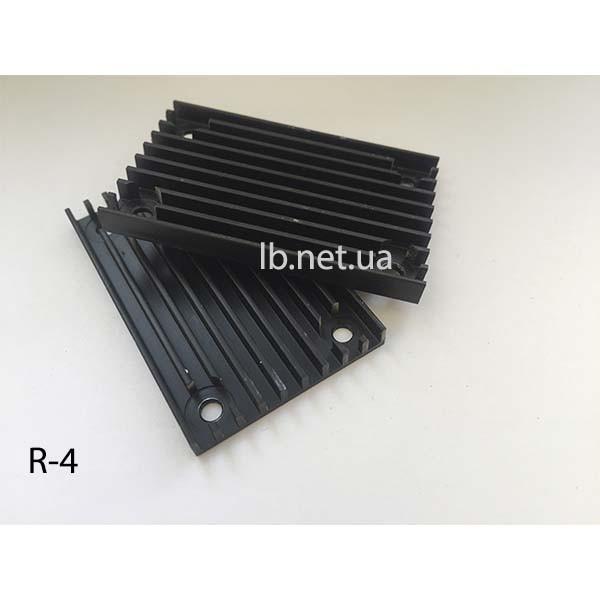 Радиатор 57,5 х 36 х 5 мм (R-4) б/у