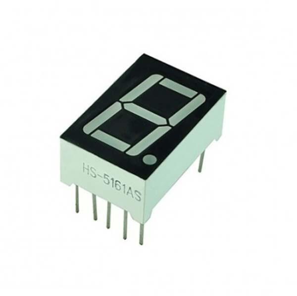Цифровой 7 сегментный индикатор (1 разряд)