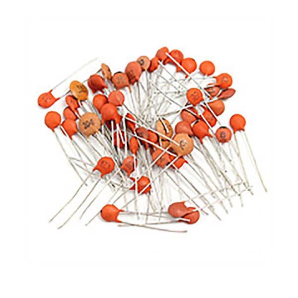 Набор керамических конденсаторов дисковых 50В (40 в 1)
