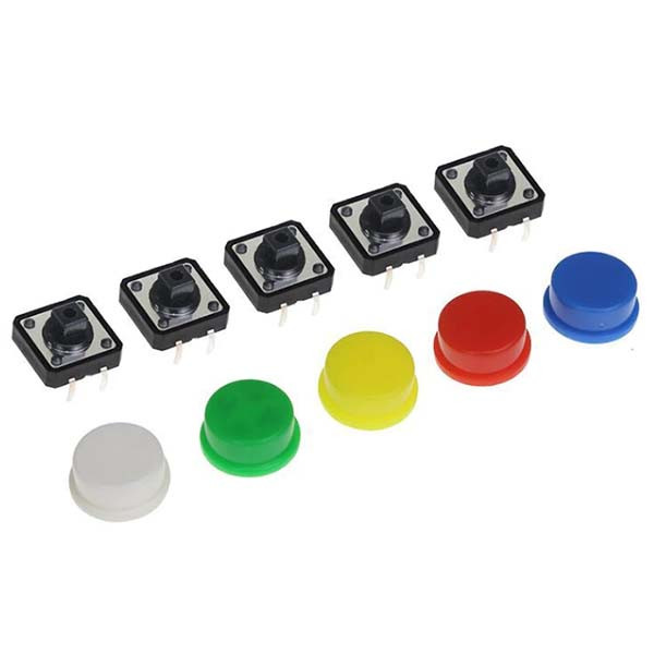 Тактовая кнопка с колпачком