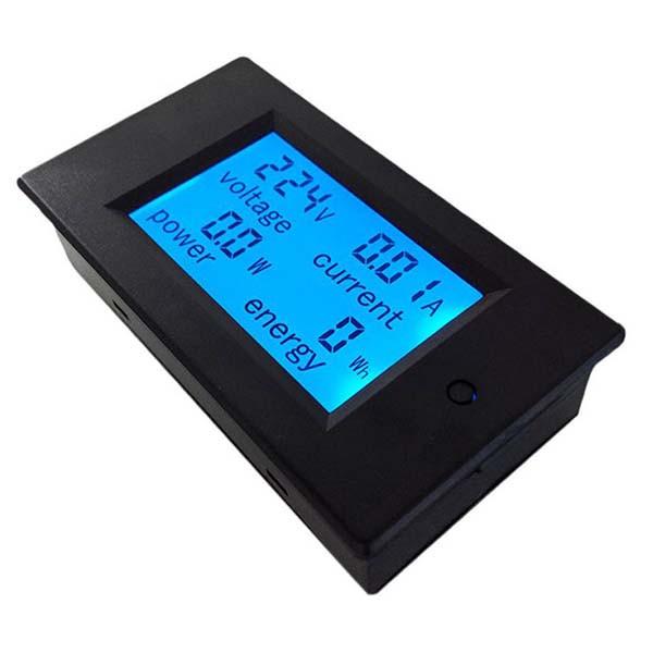 Цифровой измеритель-энергомер PZEM-021 AC 260V/20A