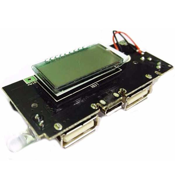 Зарядное устройство Dual USB x 5В 1A 2.1A LCD