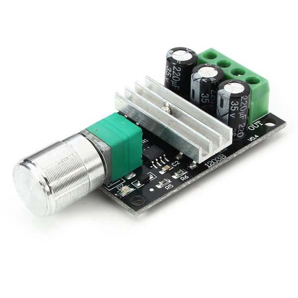 ШИМ регулятор 6-28 В, 3A с выключателем