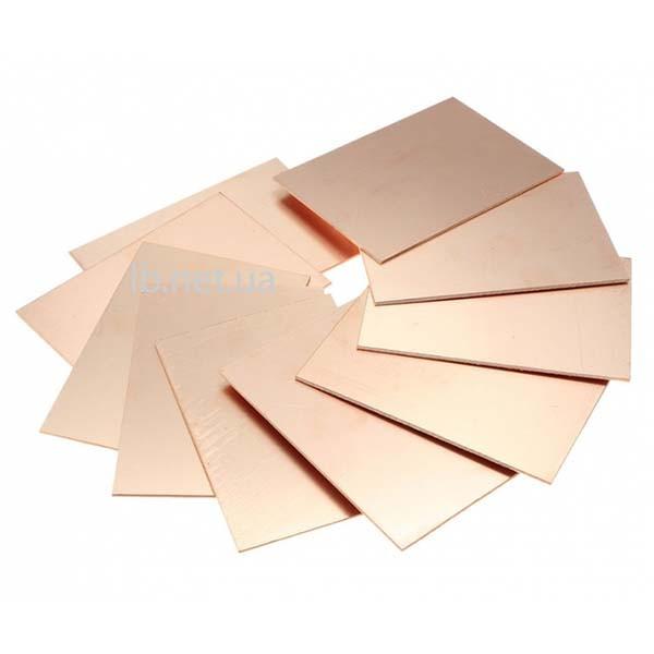 Гетинакс фольгированный односторонний 1,5 мм