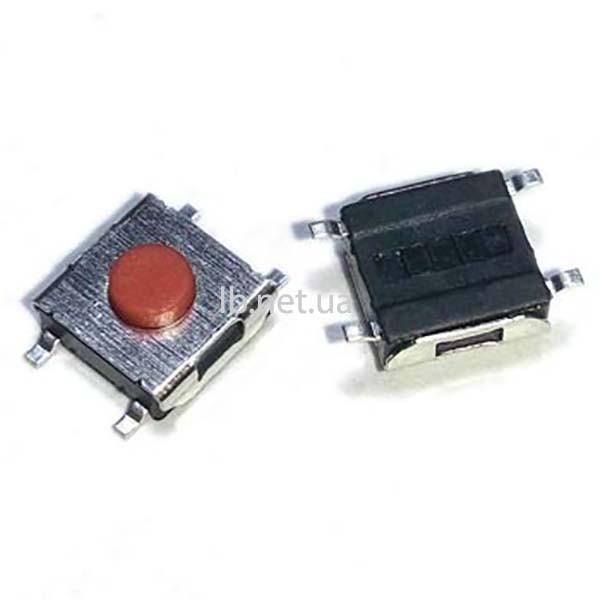 Тактовая кнопка 6 х 6 х 3.1 мм, SMD