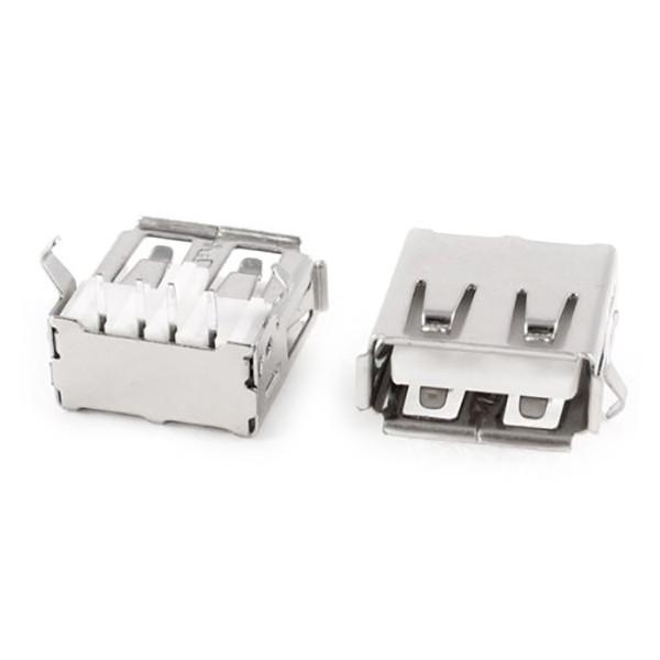 Гнездо USB тип A (90 градусов)