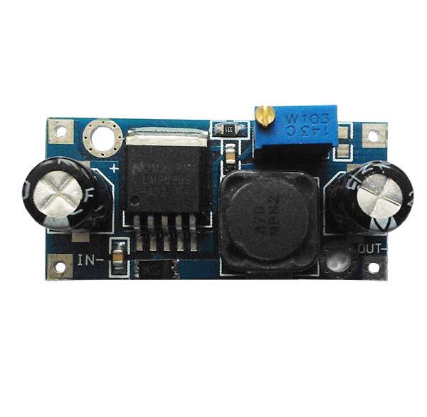 DC DC регулируемый понижающий модуль питания 4.5-40В на LM2596S