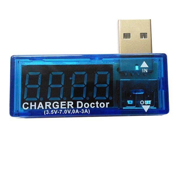 Цифровой вольтметр амперметр (USB тестер)