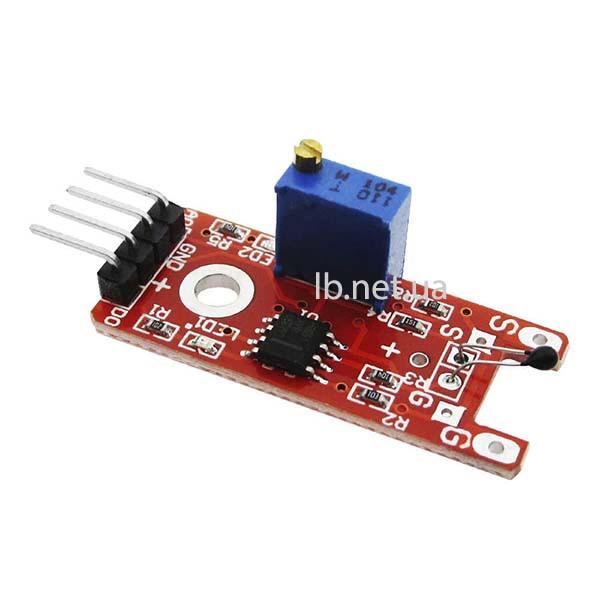 Температурный датчик с цифровым и аналоговым выходом KY-028