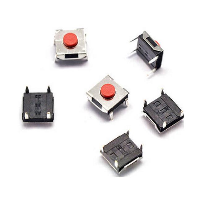 Тактовая кнопка 6 х 6 х 3.1 мм