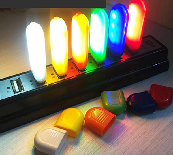 Светодиодная  USB лампочка-ночник в корпусе