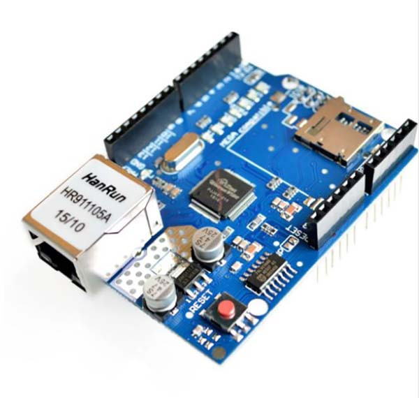 Ethernet Shield W5100 плата для Arduino