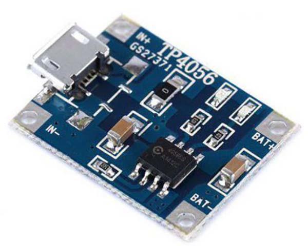 TP4056 Модуль зарядное устройство для li-ion (micro USB)