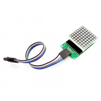 Модуль светодиодной матрицы 8х8 (MAX7219) (Набор для сборки)