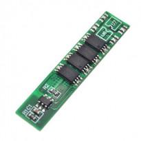 BMS контроллер заряда/разряда аккумуляторов, плата защиты 1s 3.7 В