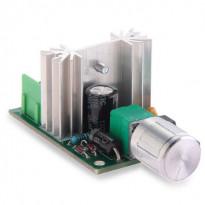ШИМ регулятор скорости вращения двигателя 6-12В 6A