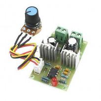 ШИМ регулятор скорости вращения двигателя постоянного тока 12-36 В