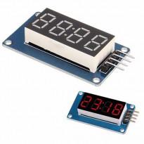 4-разрядный 7-сегментный модуль-часы TM1637