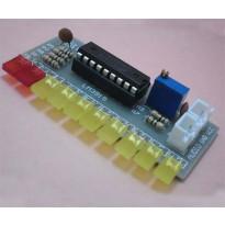 Конструктор, индикатор уровня сигнала на LM3915