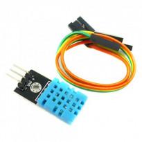 Датчик температуры и влажности DHT-11 (с проводами)