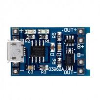 TP4056 18650 Модуль зарядное устройство для li-ion (micro USB) с защитой