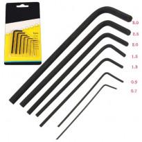 Комплект микро шестигранных ключей отверток (7 шт)